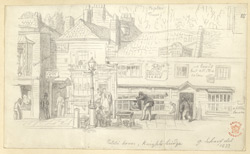 Public House, Knightsbridge, London, 1833